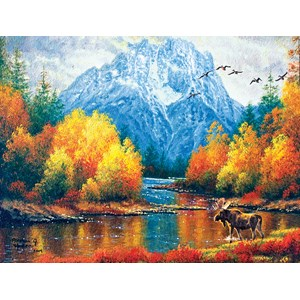 "SunsOut (69710) - Abraham Hunter: ""Moran Reflections"" - 500 pieces puzzle"