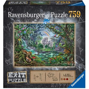 "Ravensburger (15030) - ""EXIT Unicorn (in German)"" - 759 pieces puzzle"