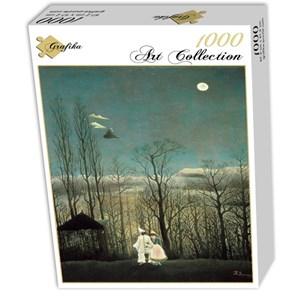"""Grafika (00500) - Henri Rousseau: """"Carnival Evening, 1886"""" - 1000 pieces puzzle"""