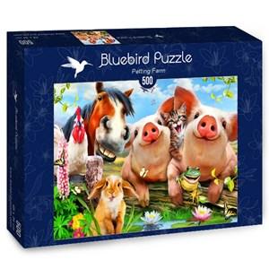 "Bluebird Puzzle (70285) - Howard Robinson: ""Petting Farm"" - 500 pieces puzzle"