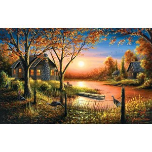 "SunsOut (55140) - Chuck Black: ""Glorious Sunset"" - 550 pieces puzzle"