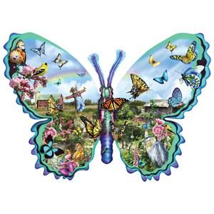 """SunsOut (95056) - Lori Schory: """"Butterfly Farm"""" - 1000 pieces puzzle"""