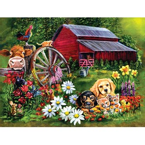 """SunsOut (60410) - Eileen Herb-Witte: """"Sweet Country"""" - 500 pieces puzzle"""