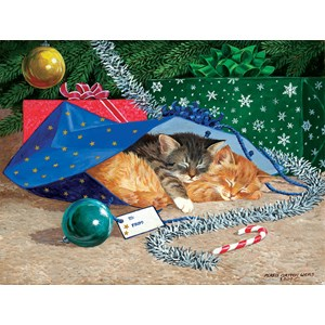 "SunsOut (51507) - Persis Clayton Weirs: ""Nap Sack Cat"" - 500 pieces puzzle"