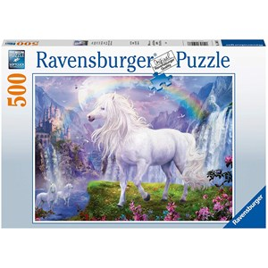 """Ravensburger (15007) - """"The Valley of The Rainbow"""" - 500 pieces puzzle"""