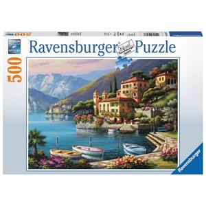 "Ravensburger (14797) - ""View on Villa Bella"" - 500 pieces puzzle"