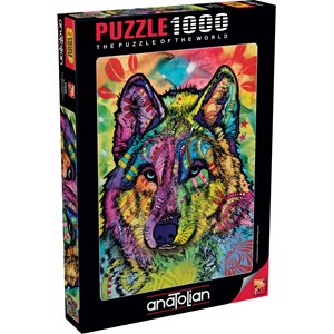 """Anatolian (1048) - Dean Russo: """"The Stare Of The Wolf"""" - 1000 pieces puzzle"""