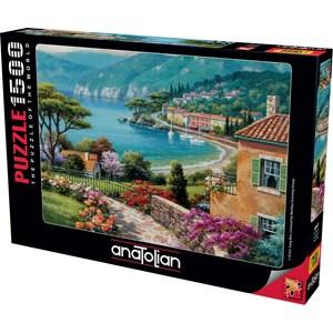 "Anatolian (4547) - Sung Kim: ""Lakeside"" - 1500 pieces puzzle"