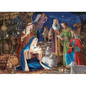 "Cobble Hill (80248) - Liz Goodrick-Dillon: ""Miracle in Bethlehem"" - 1000 pieces puzzle"