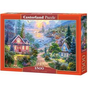 "Castorland (C-151929) - ""Coastal Living"" - 1500 pieces puzzle"