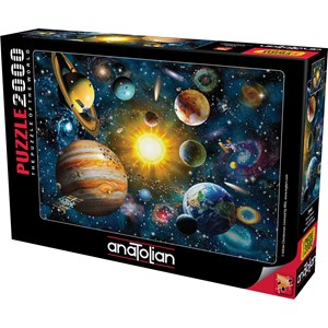 """Anatolian (3946) - Adrian Chesterman: """"Solar System"""" - 2000 pieces puzzle"""