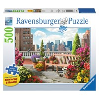 "Ravensburger (14868) - Alan Giana: ""Rooftop Garden"" - 500 pieces puzzle"