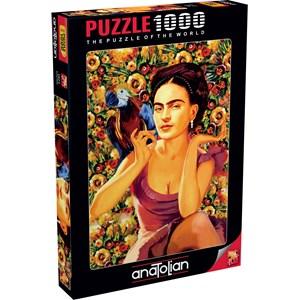 "Anatolian (1071) - Serhat Filiz: ""Frida Kahlo"" - 1000 pieces puzzle"