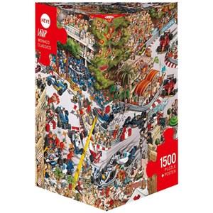"""Heye (29923) - Jean-Jacques Loup: """"Monaco Classics"""" - 1500 pieces puzzle"""