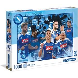 "Clementoni (39539) - ""Napoli 2020"" - 1000 pieces puzzle"