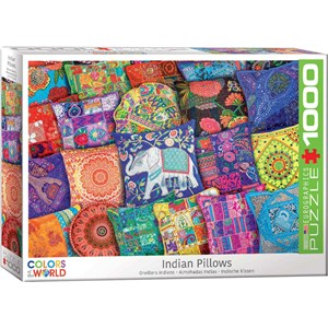 """Eurographics (6000-5470) - """"Indian Pillows"""" - 1000 pieces puzzle"""