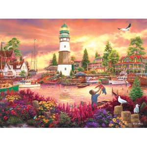 """SunsOut (33749) - Chuck Pinson: """"Love Lifted Me up"""" - 1000 pieces puzzle"""