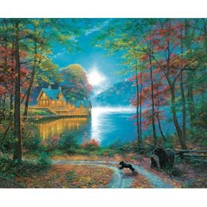 "SunsOut (52805) - Mark Keathley: ""Lakeside Dreams"" - 1000 pieces puzzle"
