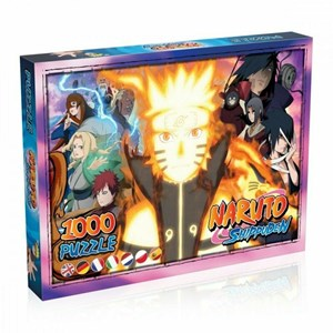 """Winning Moves Games (38423) - """"Naruto"""" - 1000 pieces puzzle"""