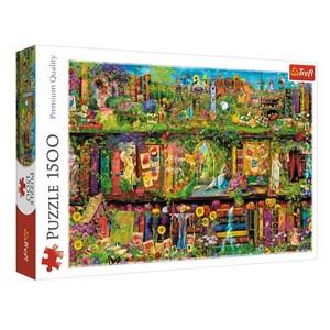 "Trefl (26165) - ""Fairy Bookcase"" - 1500 pieces puzzle"
