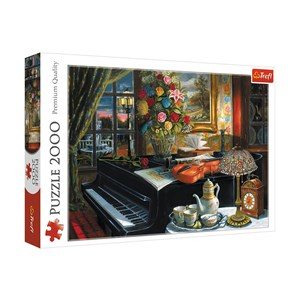 """Trefl (27112) - """"Sounds of Music"""" - 2000 pieces puzzle"""
