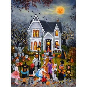 """SunsOut (45430) - Susan Rios: """"Scary Night"""" - 1000 pieces puzzle"""