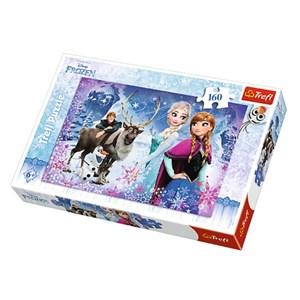"""Trefl (15344) - """"Frozen"""" - 160 pieces puzzle"""