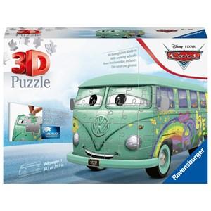 """Ravensburger (11185) - """"Cars"""" - 162 pieces puzzle"""