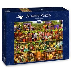 """Bluebird Puzzle (70142) - Aimee Stewart: """"Wine Shelf"""" - 2000 pieces puzzle"""