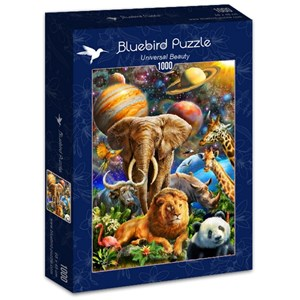 "Bluebird Puzzle (70012) - Adrian Chesterman: ""Universal Beauty"" - 1000 pieces puzzle"