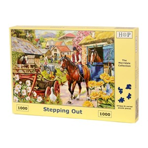 "The House of Puzzles (4715) - ""Stepping Out"" - 1000 pieces puzzle"