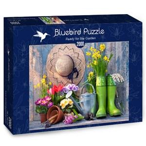 "Bluebird Puzzle (70031) - Alexander Raths: ""Ready for the Garden"" - 2000 pieces puzzle"