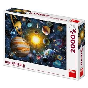 """Art Puzzle (56116) - """"Solar System"""" - 2000 pieces puzzle"""
