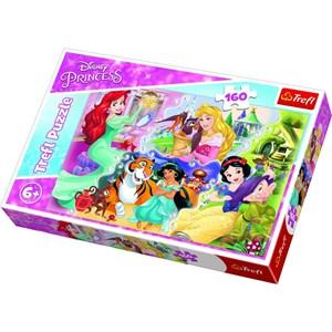 "Trefl (15364) - ""Disney Princess"" - 160 pieces puzzle"