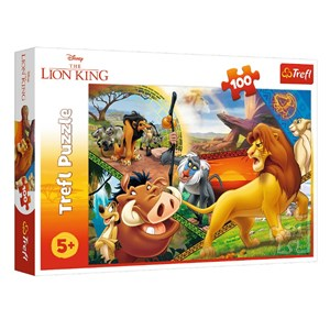 """King International (16359) - """"Disney - The Lion King"""" - 100 pieces puzzle"""