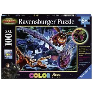 """Ravensburger (13710) - """"Dragon"""" - 100 pieces puzzle"""