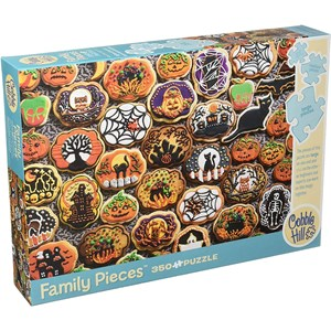 "Cobble Hill (54612) - ""Halloween Cookies"" - 350 pieces puzzle"