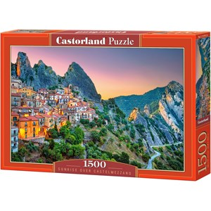 "Castorland (151912) - ""Sunrise over Castelmezzano"" - 1500 pieces puzzle"
