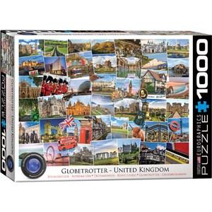 "Eurographics (6000-5464) - ""United Kingdom"" - 1000 pieces puzzle"