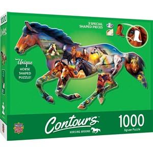 """MasterPieces (72052) - """"Wild Horse"""" - 1000 pieces puzzle"""