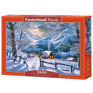 "Castorland (C-151905) - ""Snowy Morning"" - 1500 pieces puzzle"