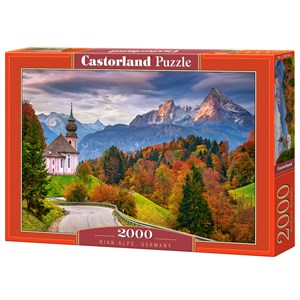 "Castorland (C-200795) - ""Rian Alps, Germany"" - 2000 pieces puzzle"
