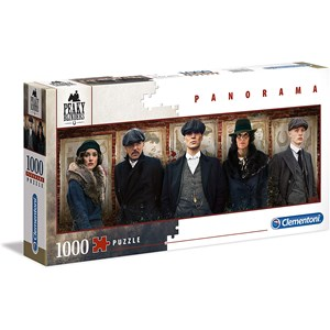 "Clementoni (39567) - ""Peaky Blinders"" - 1000 pieces puzzle"
