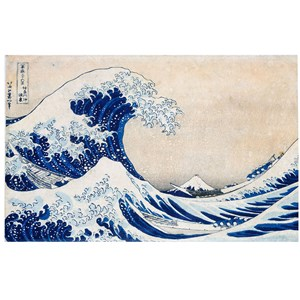 "Clementoni (39378) - Hokusai: ""The Great Wave"" - 1000 pieces puzzle"
