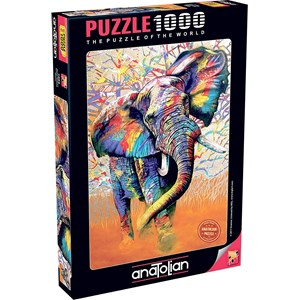 """Anatolian (1054) - """"African Colours"""" - 1000 pieces puzzle"""