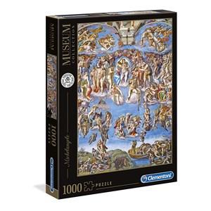 """Clementoni (39497) - Michelangelo: """"The last Judgement"""" - 1000 pieces puzzle"""
