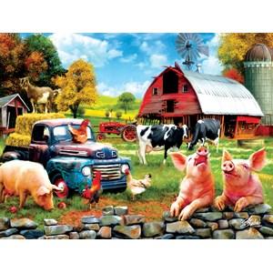 """SunsOut (42063) - Sharon Steele: """"Farm Days"""" - 1000 pieces puzzle"""