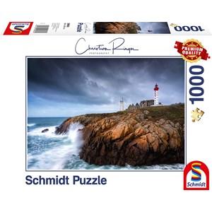 """Schmidt Spiele (59693) - Christian Ringer: """"St. Mathieu"""" - 1000 pieces puzzle"""