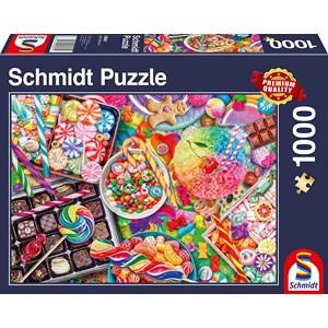 """Schmidt Spiele (58961) - """"Candylicious"""" - 1000 pieces puzzle"""