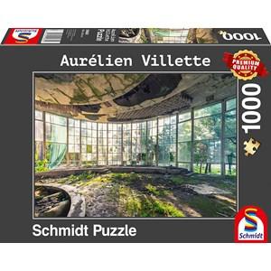 """Schmidt Spiele (59680) - Aurelien Villette: """"Old Coffee Shop"""" - 1000 pieces puzzle"""